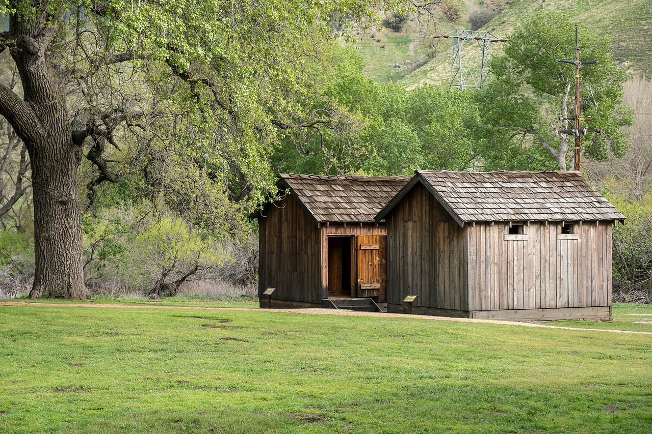 Jail and Guardhouse at Fort Tejon
