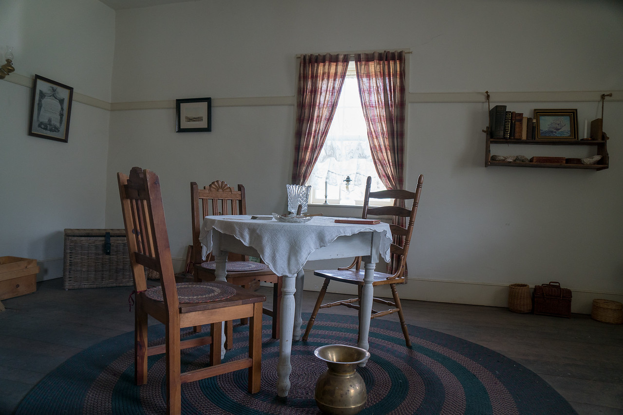 Parlor in the Commander's Quarters at Fort Tejon