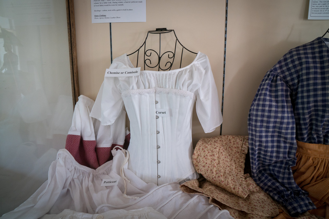 Corset or Camisole which by today's standards looks like a blouse