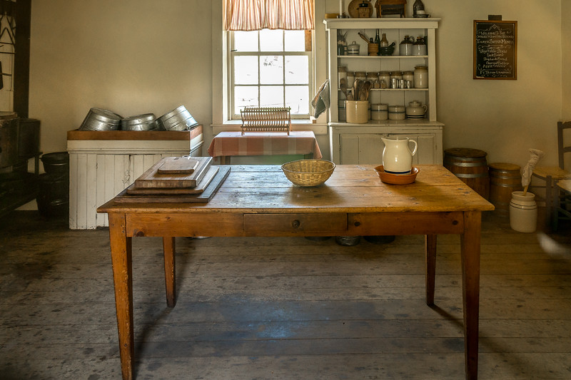 Kitchen at Fort Tejon
