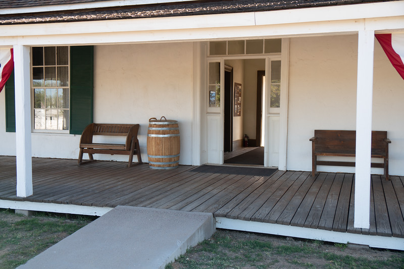 Entrance to Surgeon's Quarters, Fort Verde, Arizona
