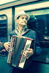 Street Musician in Paris