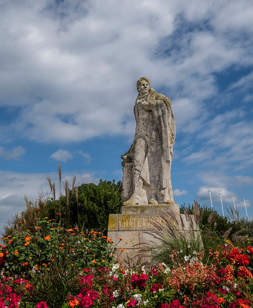 Chateaubriand Statue Saint-Malo