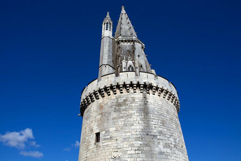 LA ROCHELLE. CHARENTE-MARITIME. TOUR DE LA LANTERNE TOWER.