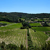 VAISON LA ROMAINE. RHONE. VIEW FROM THE CASTLE.