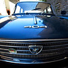 VAISON LA ROMAINE. RHONE. PEUGEOT 404. CLOSE UP.
