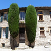 VAISON LA ROMAINE. FRANCE. TYPICAL FRENCH HOUSE.