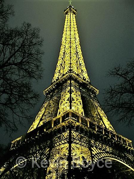 Eiffel in the Evening