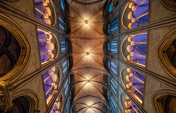 Notre-Dame Ceiling
