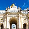 The Arc Héré arch in Nancy, France, Europe