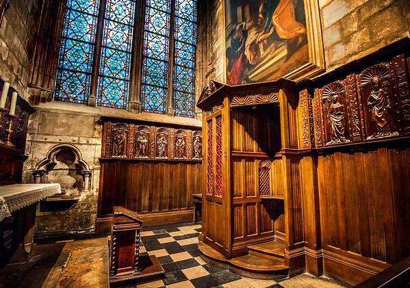 Notre-Dame Confessional