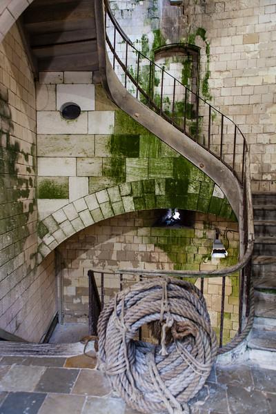 FORT BOYARD. STAIRS. [2]