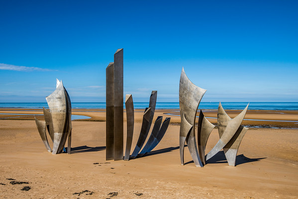 Les Braves on Omaha Beach