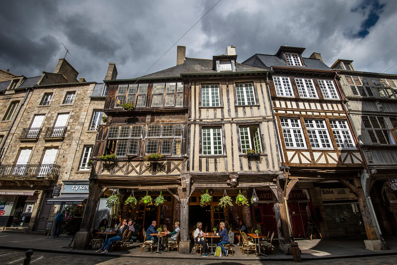 Dinan is a town in Brittany, northwest France. It's known for its medieval ramparts, cobblestone streets and half-timbered houses. Dinan Castle has a 14th-century keep and the Tour du Coëtquen, a 15th-century artillery tower.