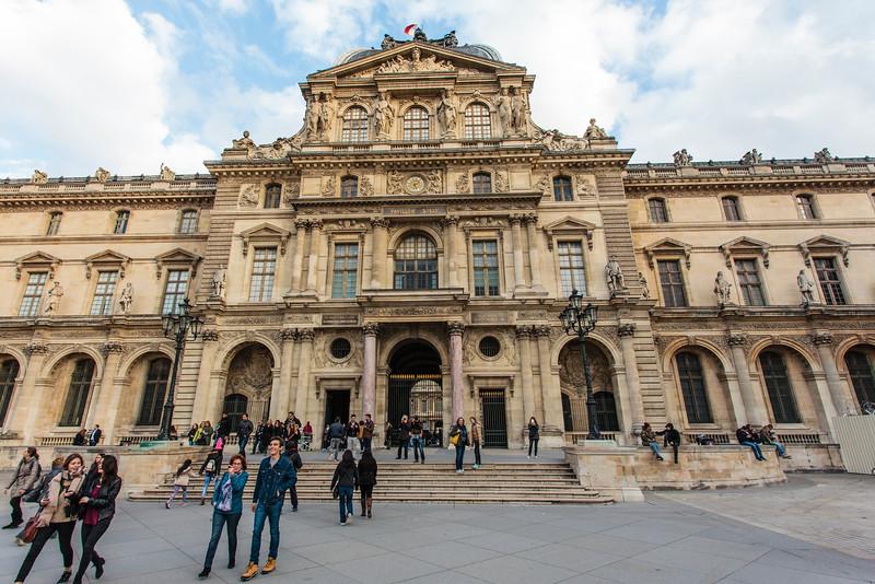 PARIS. THE LOUVRE MUSEUM. [3]