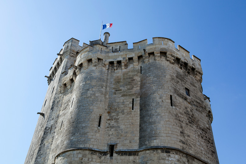 LA ROCHELLE. TOWER OF THE OLD HARBOUR (VIEUX PORT).  [4]