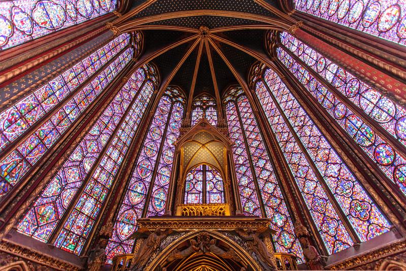 PARIS. SAINTE-CHAPELLE.
