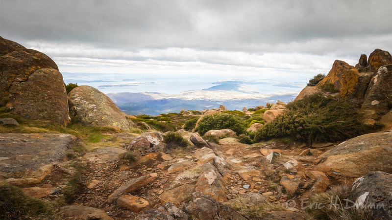 View from the Summit II, Mt. Wellington, Hobart, Tasmania
