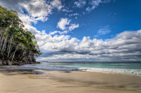 Deserted Beach, Adventure Bay, South Bruny Island, Tasmania