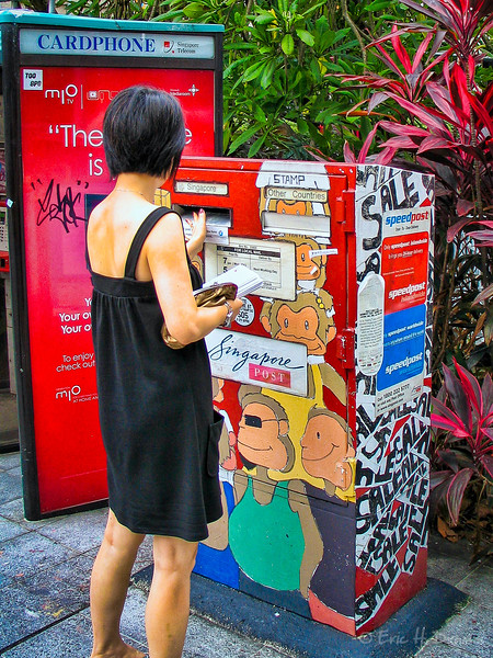 At the Postbox, Singapore