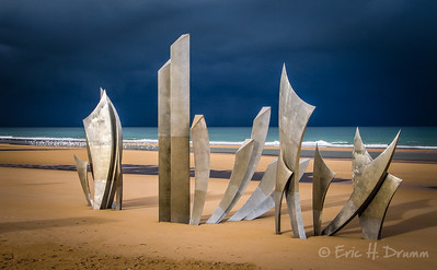 Les Braves, Omaha Beach, Normandy