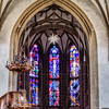 Stained Glass, Evangelical Schlosskirche, Meisenheim, Germany