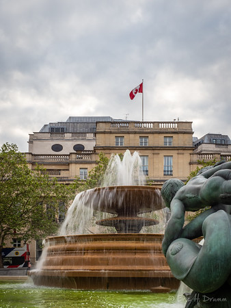 Canada House, Trafalgar Square, London, England