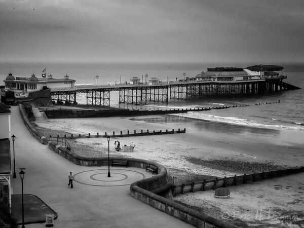 Cromer Beach and Pier, Norfolk, England