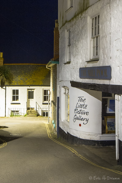 The Little Gallery, Mousehole, Cornwall