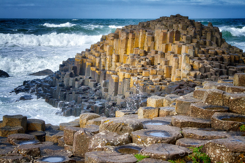 Patterns II, Giant's Causeway, Co. Antrim, Northern Ireland
