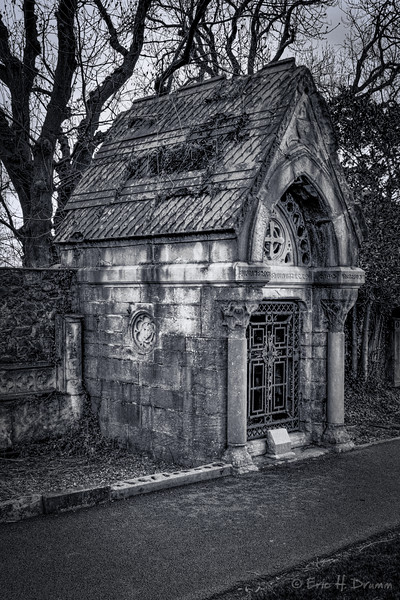 Dunville Family Mausoleum, Clifton Street Graveyard, Belfast, Northern Ireland