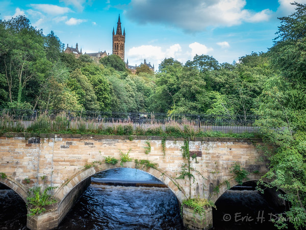 River Kelvin, Glasgow, Scotland
