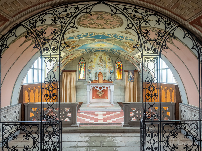 Interior, Italian Chapel, Orkneys, Scotland