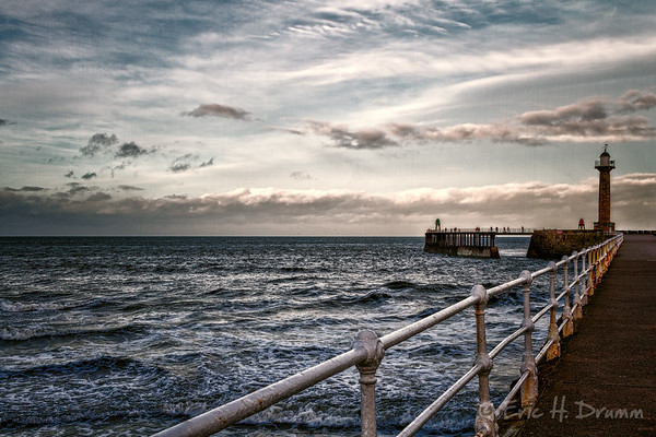 Stormy Afternoon, Whitby, Yorkshire, England