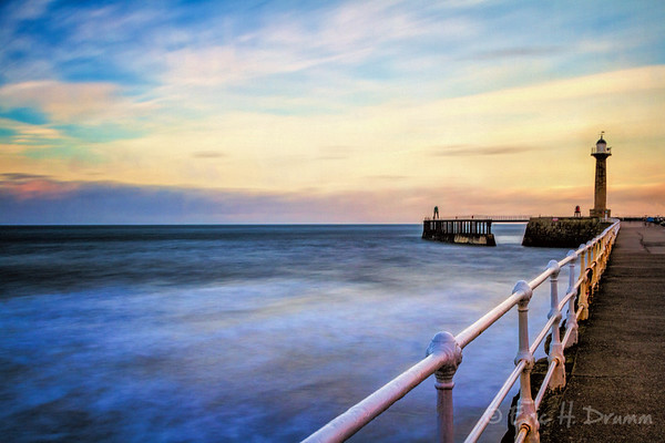 Pastel Colours, Whitby, Yorkshire, England