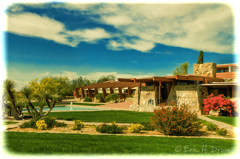 Vintage Taliesin West, Frank Lloyd Wright House, Scottsdale, Arizona