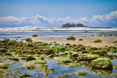 Low Tide at Florencia Bay, Pacific Rim National Park, Vancouver Island,  British Columbia
