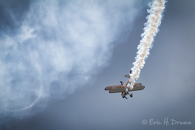 Daredevil Wing Walker, Borden Air Show, Ontario