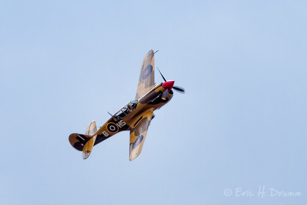 Curtiss P-40 , Borden Air Show, Ontario