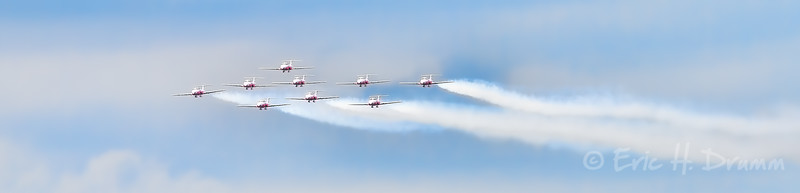 Canadian Forces Snowbirds, Borden Air Show, Ontario