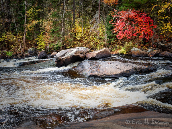Fall on the Magnetewan, Burks Falls, Ontario