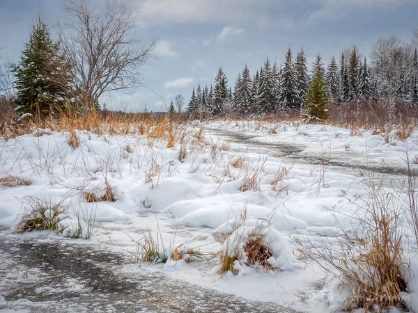 Freezing Up, Strong Township, Ontario