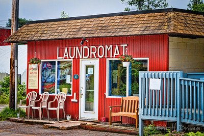 The Laundromat, Haliburton Village, Ontario