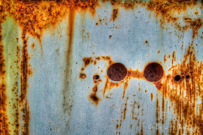 Rust Abstract, Mike's Auto & Salvage, Midland