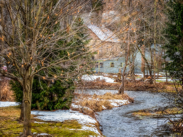 Old Mill on Bronte Creek, Lowville