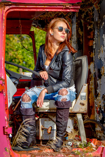 The Grunge Look, McLean's Auto Wreckers, Milton, Ontario
