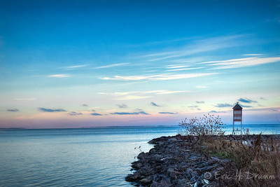 Twilight, Hawkstone Harbour, Ontario