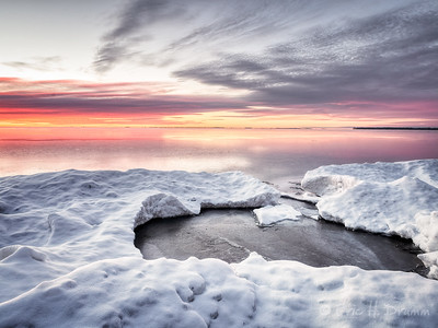 Sunrise, Lake Simcoe, Ontario