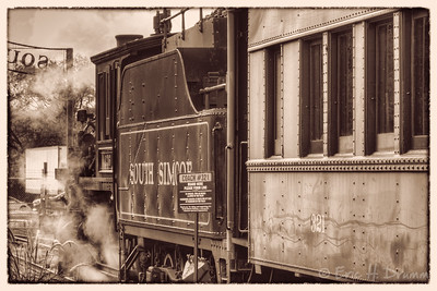 South Simcoe Steam Train, Tottenham, Ontario