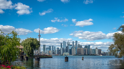 Toronto Skyline from Centre Island, Ontario